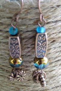 rope backgd teal antiq copper