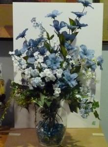 blue flower arr